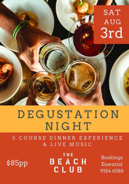 degustation dinner onslow karratha exmouth hedland pilbara north west