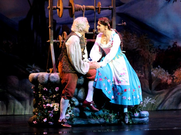 Belle et son père (Manon Taris et Didier Cluzel)