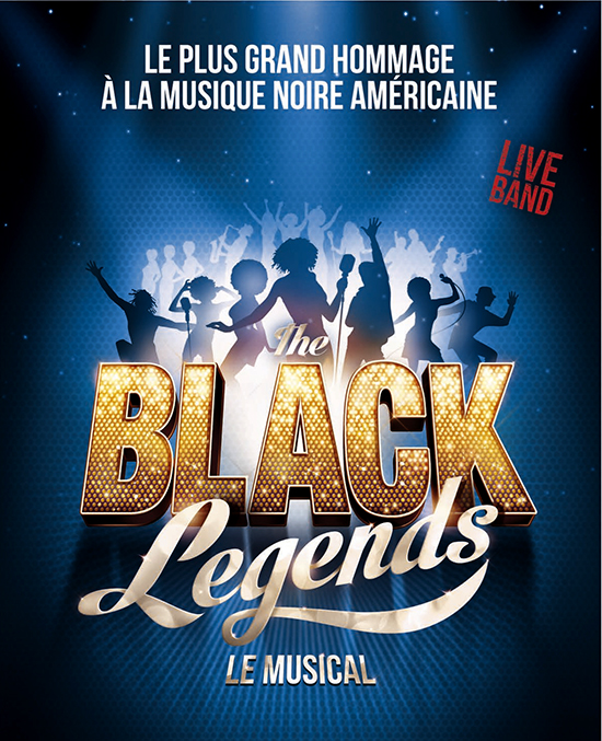 Affiche hauteur Black Legends