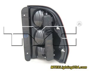 TYC Left Side Tail Light Lamp Assembly for Chevrolet Trailblazer 20022009 | eBay