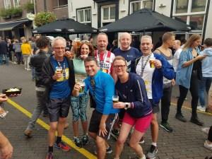 Deelnemers aan de marathon van Eindhoven