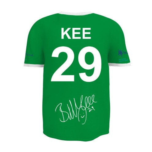accrington stanley billy kee tribute shirt back