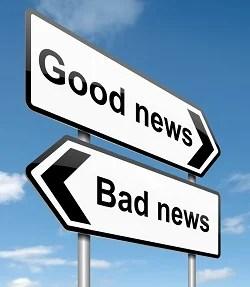 good news bad news small