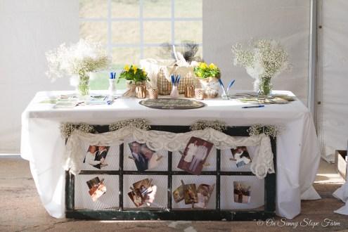 Black white gold wedding theme decorations-3