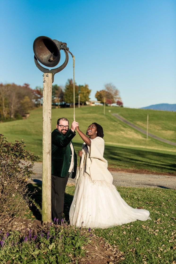Lauren & Kyle November 10, 2018 Wedding On Sunny Slope Farm Harrisonburg Virginia-10