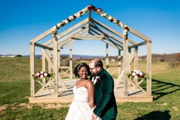 Lauren & Kyle November 10, 2018 Wedding On Sunny Slope Farm Harrisonburg Virginia-5