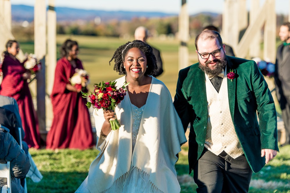 Lauren & Kyle November 10, 2018 Wedding On Sunny Slope Farm Harrisonburg Virginia-9
