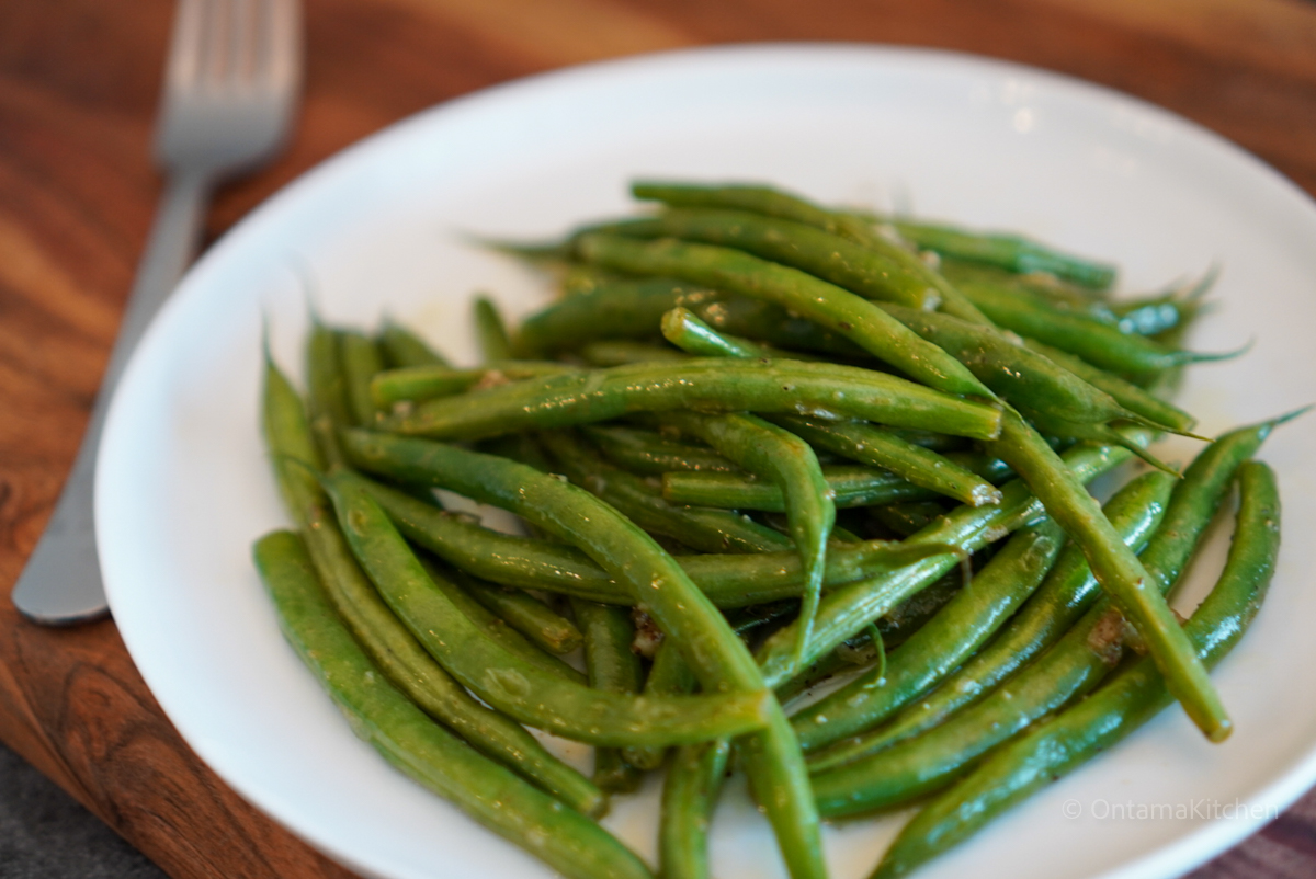 Green beans lemon garlic