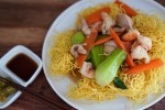 クリスピーチャウミン【ノンフライヤー調理】(Crispy Chow Mein)