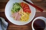冷やし中華 (Cold Ramen Noodle Salad)