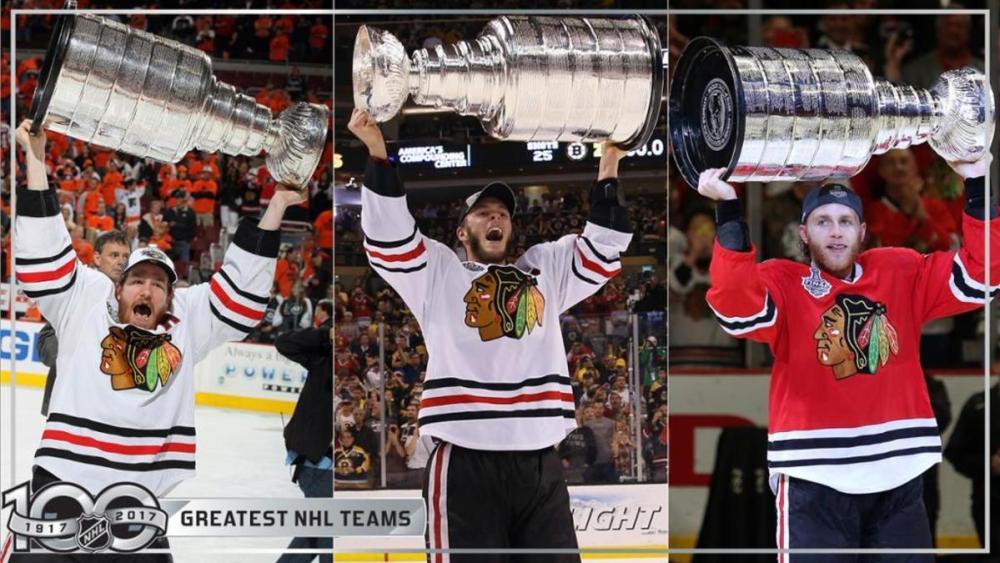 Blackhawks Stanley Cups