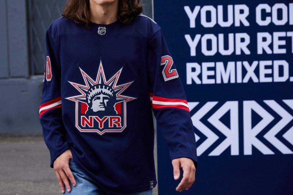New York Rangers Reverse Retro Jersey
