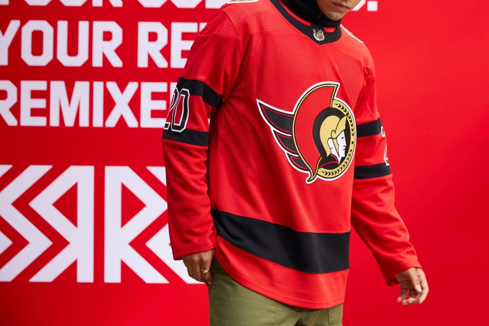 Ottawa Senators Reverse Retro Jersey