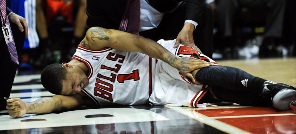 Derrick Rose Knee Injury