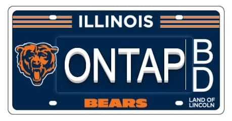 sports-themed license plates