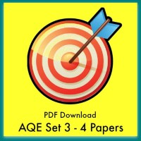 AQE Practice Papers Set 3 PDFs