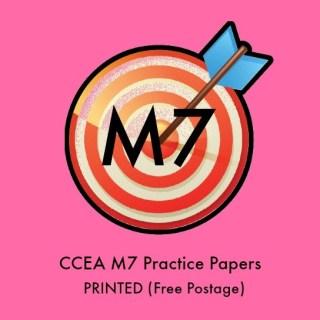 M7 GCSE Maths Practice Papers