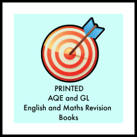 AQE and GL Maths and English Revision Books