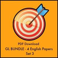 GL English Transfer Test Set 3