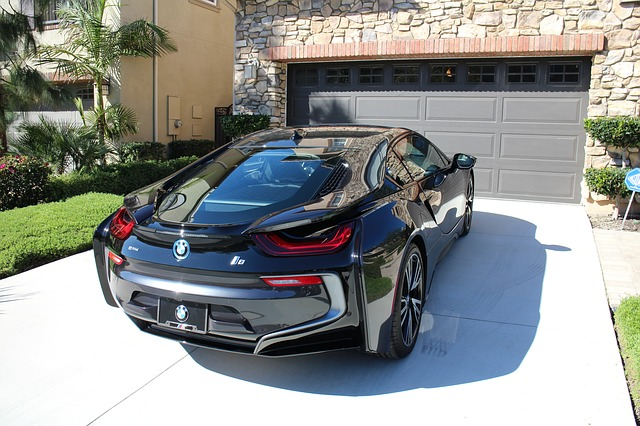 BMW I8 Hybrid Electric Vehicle