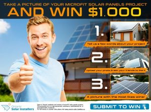 Take a picture of your microFIT solar project and win $1,000!