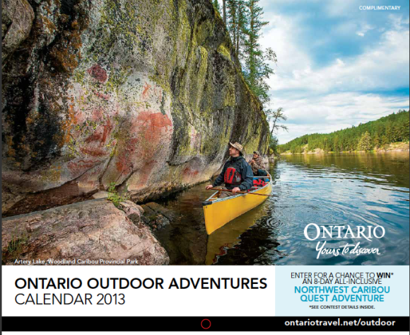 Ontario Outdoor Adventure Calendar