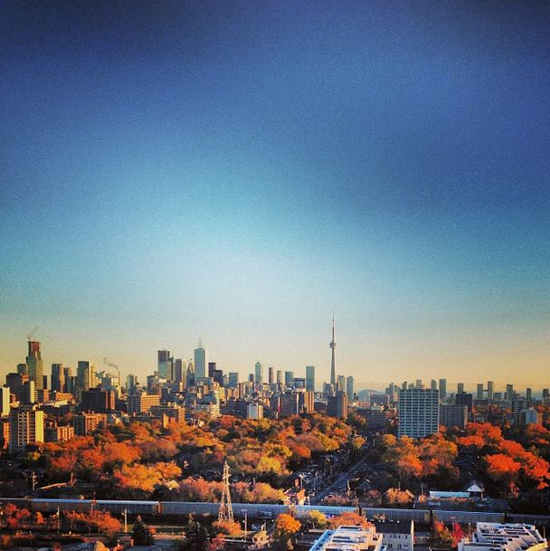 CN tower from Casa Loma