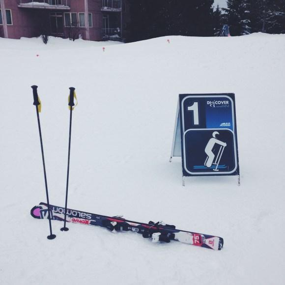Blue Mountain Ski Lesson