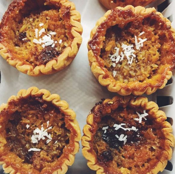 Maid's Cottage - Coconut Butter Tart