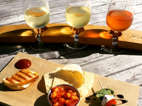 Wine, Cider and Appetizers at Coffin Ridge