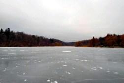 An empty Grenadier pond.