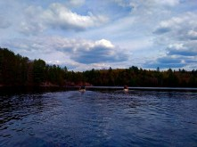 The Algonquin highlands and the water trail.