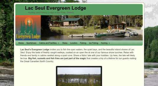 Cottages and Cabins for rent in Ear Falls
