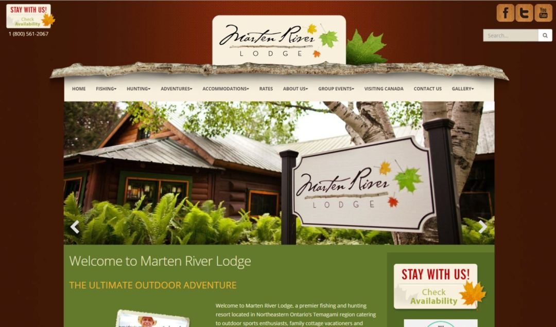 Cottages and Cabins for rent in Marten River