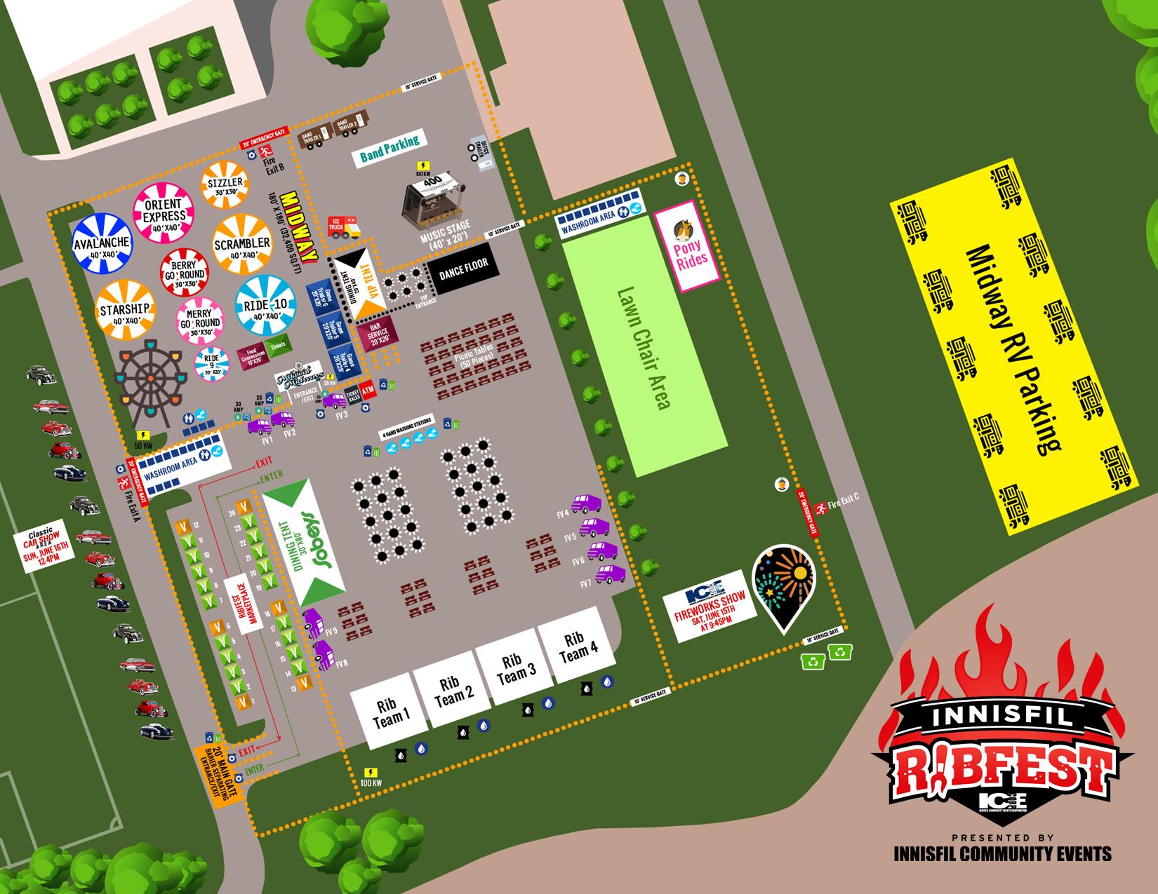 Innisfil Ribfest Sitemap Event View Ontario Festival Group