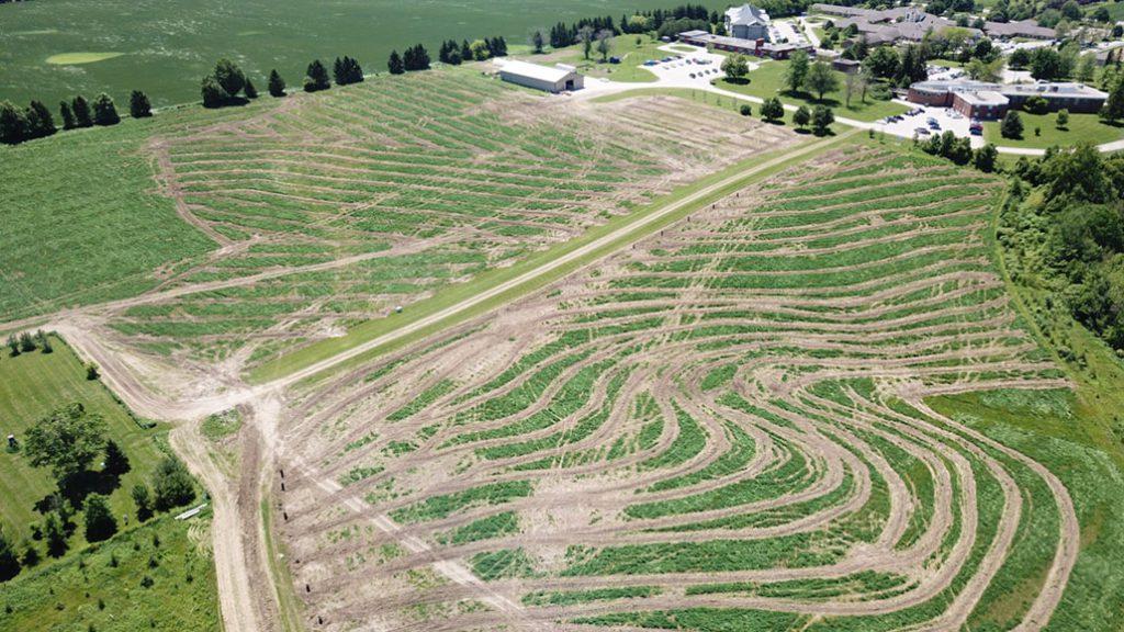 controlling runoff ontario grain farmer