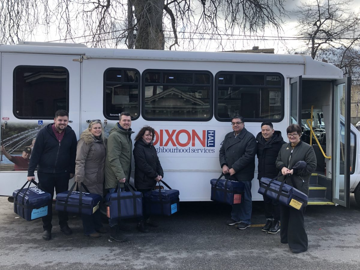 OntarioMD Works with Dixon Hall to Give Back