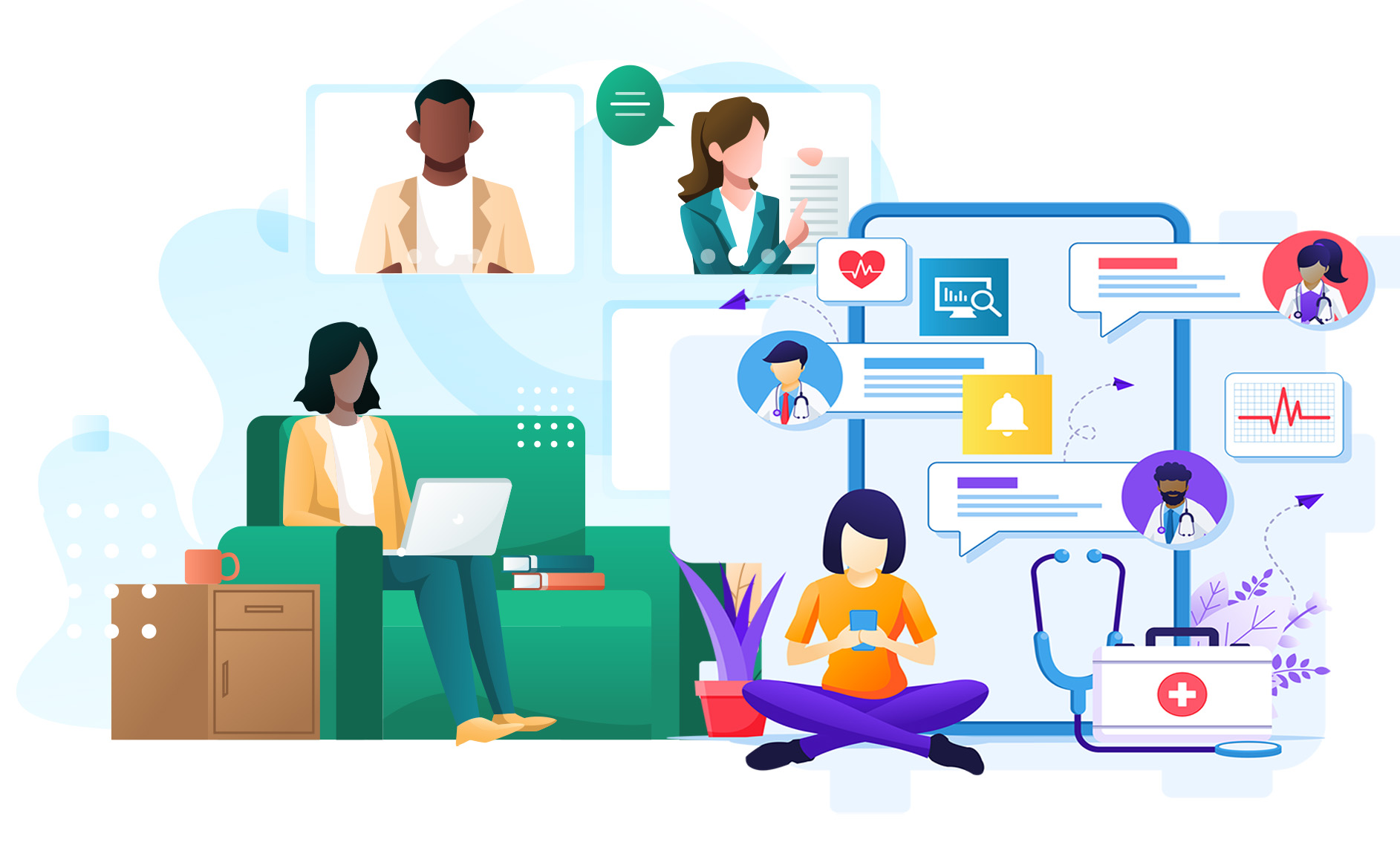 Virtual care's continued evolution: changing attitudes & innovations across Canada
