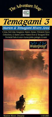 Marten River Provincial Park Map Temagami