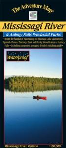 Mississagi River Map - Aubrey Falls Provincial Parks