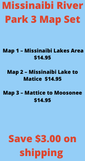 Missinaibi River Map Package