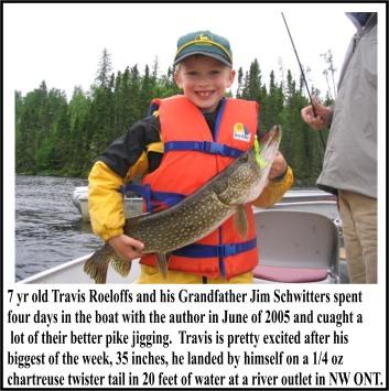 Jigging Early Summer Pike Fishing