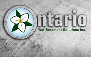 ontario wet basement logo image