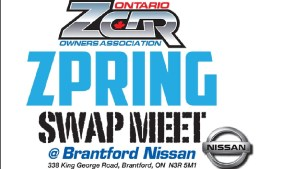 OZC Spring Swap Meet @ Brantford Nissan | Brantford | Ontario | Canada