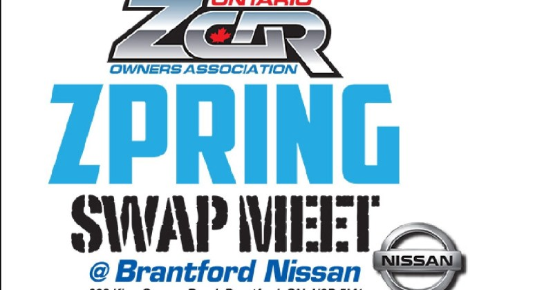 2019 OZC Spring Swap Meet at Brantford Nissan