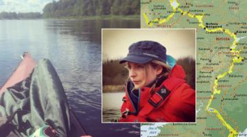 Британка в одиночку проплывет 3700 километров по Волге