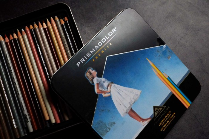 《波麗繪畫開箱》高人氣的美國Prismacolor油性色鉛筆132色,手繪插畫必須推!