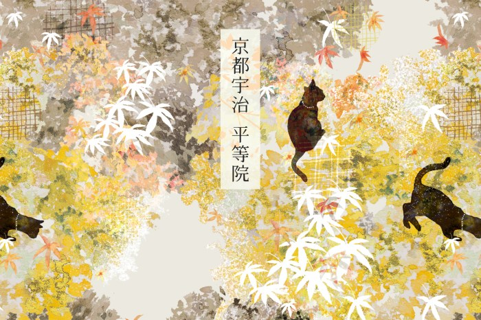 《城市印花。京都宇治》平等院鳳凰堂,超好拍的千年文化遺產!