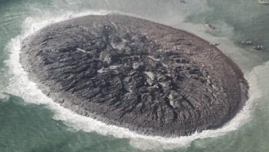 ميلاد جزيرة جديدة في بحر العرب بعد الزلزال المدمر الذي ضرب باكستان