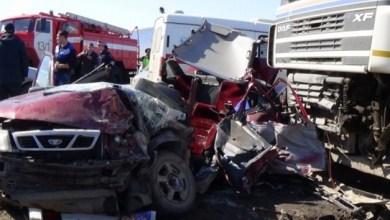 فيديو ، شاب روسي يوثق لحظة وفاته في حادث مروّع